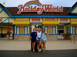 Holiday World Sign